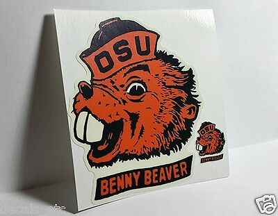 Oregon State University OSU,  Vintage Style College DECAL / Vinyl STICKER