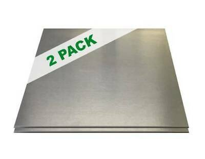 2 Pack - 18 .125 Aluminum Sheet Plate 12 X 12 5052