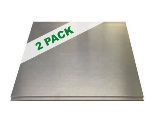 """2 PACK - 1/8"""" .125 Aluminum Sheet Plate 12"""" x 12""""  5052"""