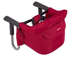 Inglesina-2012-Fast-Table-Chair-Portable-High-Chair-In-Ibisco-Red-Brand-New