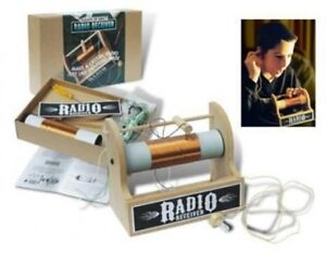 Details about crystal radio kit from flights of fancy