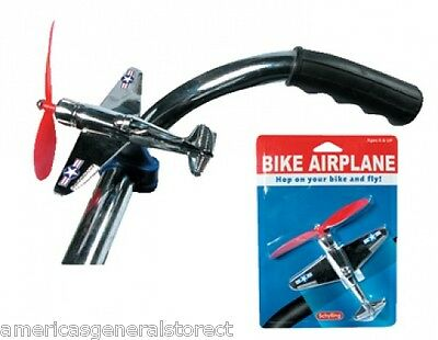 kids BIKE AIRPLANE handlebar retro propellor handle bar bicycle tricycle toy (New - 9.45 USD)