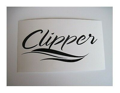 CLIPPER COACHMEN RV TRAILER CAMPER DECAL STICKER WHEEL POP UP SM1