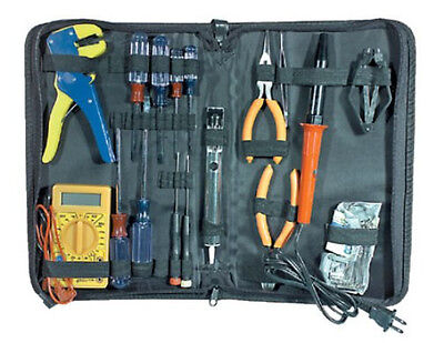 NEW 25pc Electronic Tool Set Electrician Kit ...