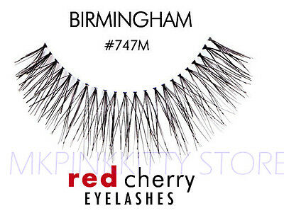 Red Cherry Lashes #747M False Eyelashes  Fake - Red Fake Eyelashes
