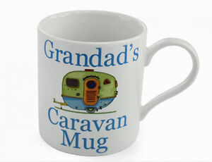 CARAVAN MOTORHOME CHINA MUG COFFEE CUP TEA MUGS GIFT NOVELTY SET NEW CAMPING