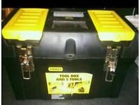 """Stanley toolbox, new, 19"""""""