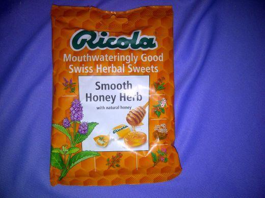 RICOLA Smooth Honey Herb 70g Bag Vegetarian