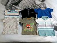 9-12 months old boys t-shirts. £2 ono.