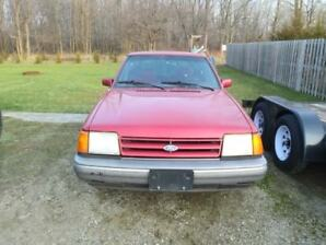 89 Ford Escort For Sale