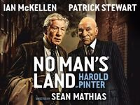 No Man's Land Starring Ian McKellen and Patrick Stewart.