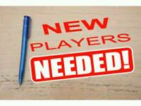 St Bernards Sunday Amateurs looking for players