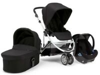 Mamas & Papas zoom 4 piece Pram set black