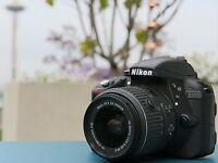 Nikon D3300 Digital SLR Camera w/ 18-55mm Lens
