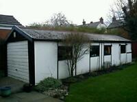 Asbestos removal birmingham cement garage roof