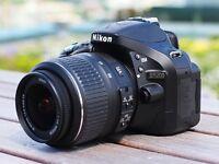 Nikon D5200 + 15-55mm lens