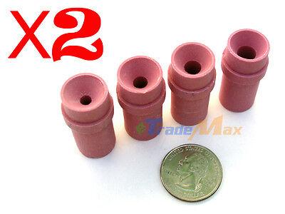 8 Pcs Pink Ceramic Nozzle Tips for Abrasive Blaster Sandblaster Gun 4mm-7mm