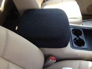 auto center console armrest covers foam insert incuded c1 black. Black Bedroom Furniture Sets. Home Design Ideas