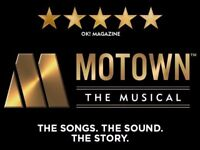 Three tickets to see the fantastic MOTOWN the MUSICAL on Thurs 2nd November- a 2-30pm matinee