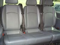 Mercedes Viano W639 Grey Leather rear 3x seats (2+1) good condition (from 2006 model)