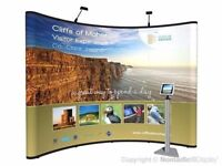 Nomadic Exhibition Display 3x3 + 3x3 With lighting and extras