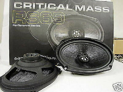 CRITICAL MASS SPEAKERS RS69 TOYOTA LEXUS CAMRY DOOR BEST SOUND QUALITY OEM