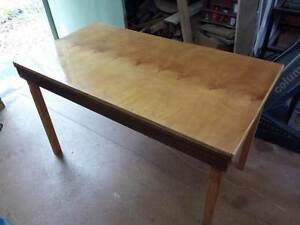 Wooden Desk Elanora Heights Pittwater Area Preview