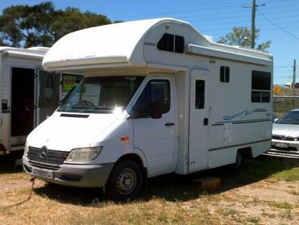 MERCEDES - Spirit 4 - 2001 - Motorhome 2-4 Berth Boondall Brisbane North East Preview