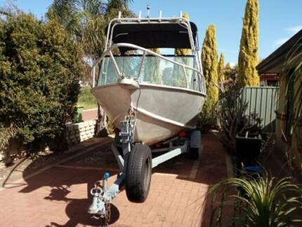 16ft ally boat. custom made with yamaha motor. LIC. MAY SWAP