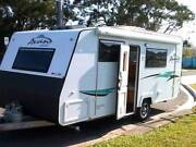 A'VAN - Aspire 555 - 2017  island Bed, A/C, ENSUITE, LIGHT to TOW Boondall Brisbane North East Preview