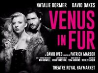 2 x Venus in Fur - Friday the 20th Oct