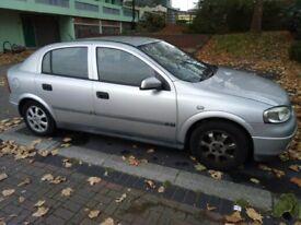 Vauxhall Astra 58750 mile