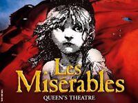 Les Miserables Tickets London 16/12/17 2.30pm