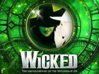 4 x wicked tickets for this monday