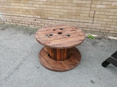 Rustic Wooden Cable Reel Drum