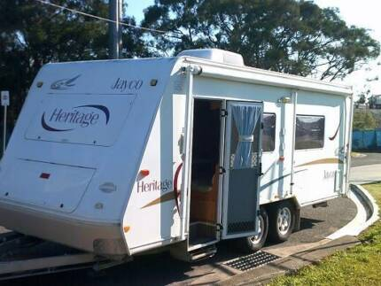 JAYCO - Heritage - 2004 - island Bed, A/C, Shower, Toilet Boondall Brisbane North East Preview