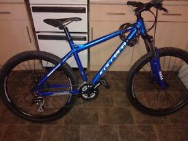 Blue Carrera Mountain Bike