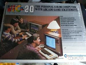 Commodore VIC 20 Very Rare (Made in the USA)Excellent