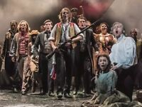 Les Miserables Tickets Tonight - two seats together