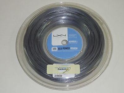 *NEU*Luxilon Alu Power Rough 1.25mm String 12m Tennis Saitenset Pro Big Banger