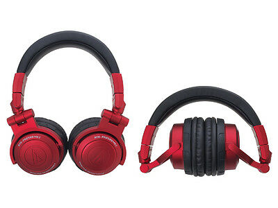 Audio Technica ATH-PRO500MK2 RD RED | DJ Monitor Headphones