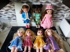 7 Disney Toddler Dolls