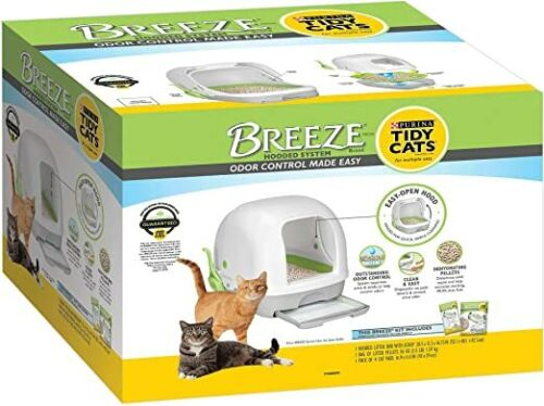 Tidy Cats BREEZE Hooded Litter System - NEW- FREESHIP !!!