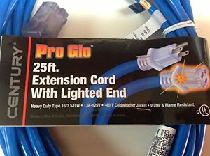 PRO GLO 25ft 16/3 Heavy Duty Extension Cord