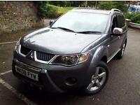 2008 Mitsubishi Outlander 2.0 DI-D Warrior 5 door Diesel Estate