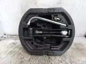 """Skoda Roomster Space saver spare wheel 16"""" and accesories"""