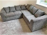 🚀🚀XCHRISTMIS OFFER🌲🌲 59% OFF Liverpool JUMBO CORD ✨✨CORNER SOFA AVAILABEL🌈🌈 IN STOCK