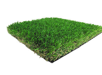 Diamond Synthetic Landscape Fake Grass Artificial Turf Lawn 4' x 15' (60 sf)