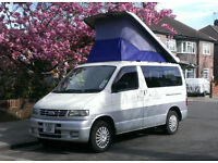 Wanted - any make Camper Van with elevating roof - no more than £8,000 please