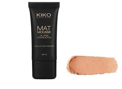 KIKO Mat Mousse Foundation with matifying active ingredients in 03 Natural (03 Mousse)